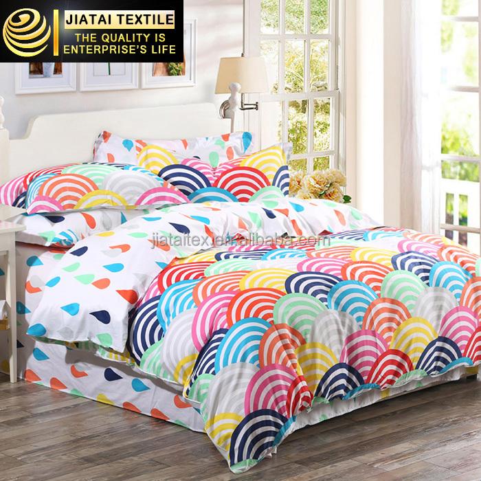 Double Bed Linen Set Bright Color forter Sets Custom