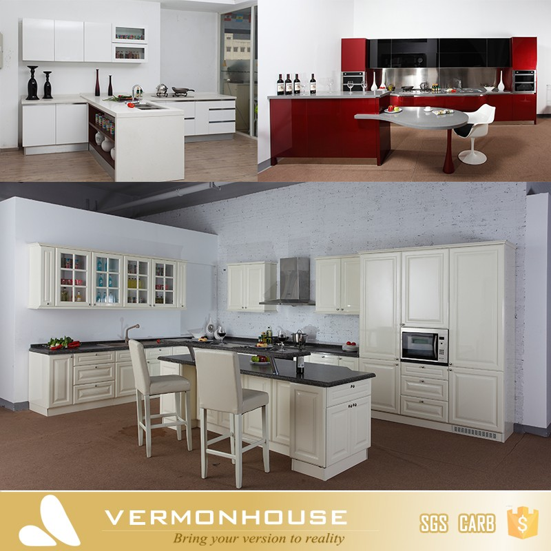 2017 vermont hot sell wood kitchen cabinet wooden