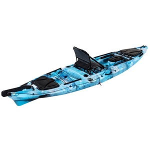 China Plastic roto-molded Cheap Sit on Top Fishing Canoe Kayak