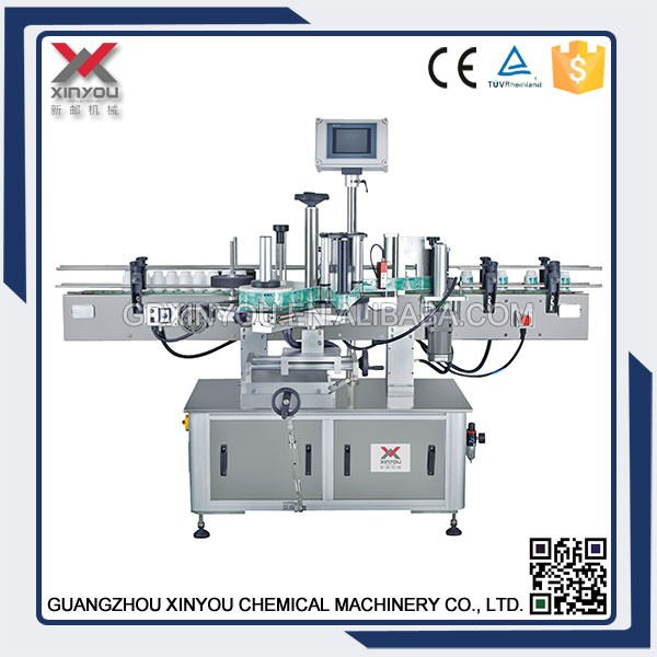 TB-360 VERTICAL ROUND BOTTLE POSITIONING LABELING MACHINE In Guangzhou