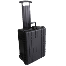 GD5014 Hard Plastic Waterproof Equipment Case with Trolley