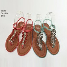 fancy branded sandals summer shoes for ladies