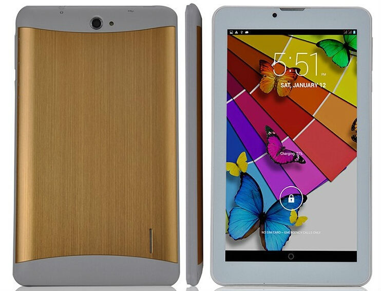 7 inch quad core dual sim tablet with 3G,full function