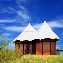 Outdoor Resort Luxury Hotel Tent For Sale With Furniture Decoration