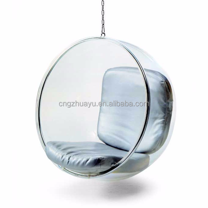 hanging type acrylic bubble chair cheap hanging hanging bubble chair buy hanging bubble chair. Black Bedroom Furniture Sets. Home Design Ideas