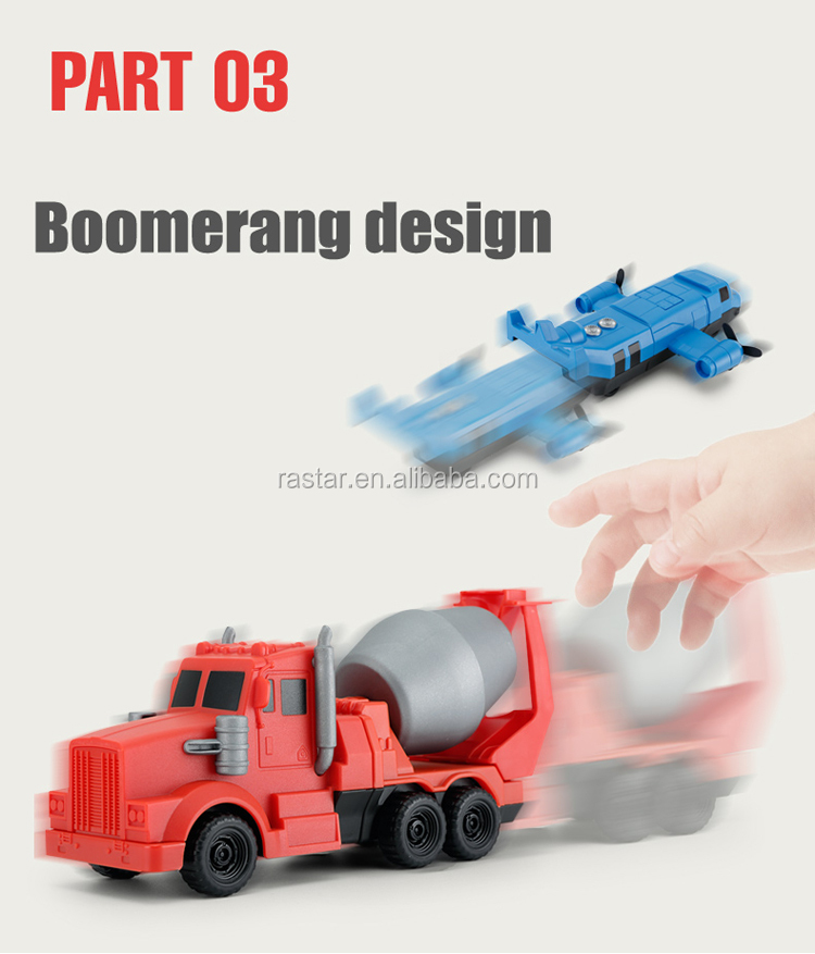 RASTAR engineer toys series gift wholesale magnetic toy diy car kit