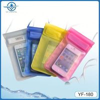 IPX8 water sports swimming smart mobile phone pvc waterproof case for iphone5 5s