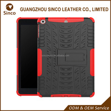OEM professional manufacturer protective rugged hybrid armor back cover tablet case for child for ipad 9.7 inch