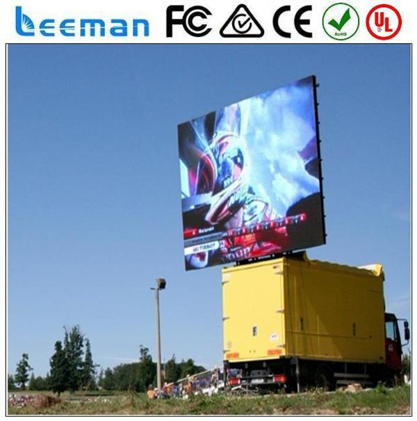 walking mobile billboard 2015 Leeman LED Truck advertising