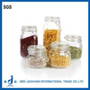 airtight glass jars with sealed clamp lids