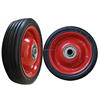 5inch solid rubber caster wheel