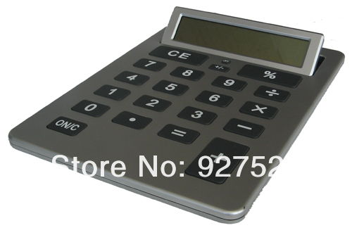 Exquisite A4 electronic desktop office calculator,hot sale gift calculator