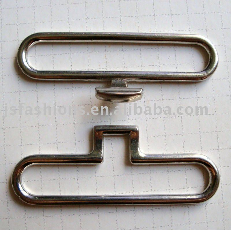 trousers hook and bar