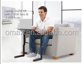 OMAX Floor stand laptop desk to relax your hands /legs and neck to using your laptop on bed/sofa/desk