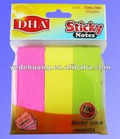Promotion Gift Memo Pad Scratchpad Colored Sticky Notes Sample Memo