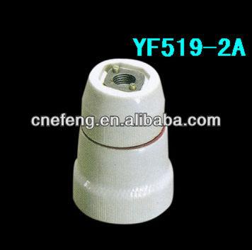 E27 porcelain lamp base outlet with CE and ROHS Certificate