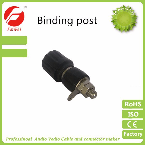 electrical speaker terminal binding post & panel socket/binding post