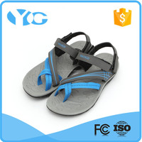 Stylish flat sandals arabic shoe sandal rubber shoe