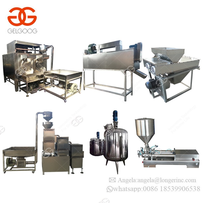 Full Automatic Continuous Sesame Tahini Making Machine Groundnut Butter Processing Equipment Peanut Butter Production Line