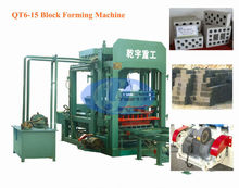 QT6-15 Coal Ash Brick Making Machine