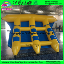0.9mmPVC inflatable flying towables flying fish boat water banana boat for sale