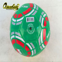 Size 5 hot selling soccer ball /PVV PU TPU football for promotion