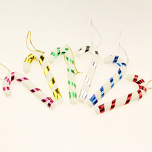 2017 Hot Sale Colorful Mini indoor Christmas crutches decoration