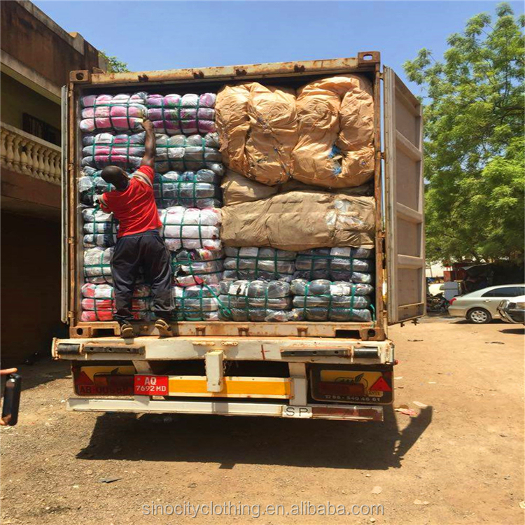 China used clothing suppliers load container used clothes fairly used clothes for sale