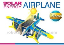 Educational solar wooden toy with EN71