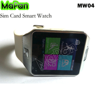 "1.54"" smart watch MaPan MW04 SIM Card Bluetooth 3.0 Smart watch phone with speaker skype whatsapp"