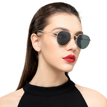 New Retro Women Folded Sun Glasses Men Clear Polarized Oval Sunglasses Simple Grace Glasses