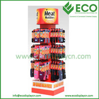 Hot Sale Counter Rotating Hook Display Stand for Socks Exhibition