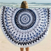 Wholesale Factory Supply Beach Towel Round
