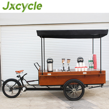 mobile coffee trailer/street sale coffee cart with nice shap