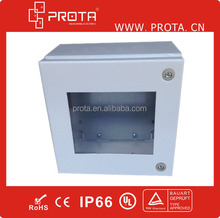 Waterproof Electrical Terminal Box with plexiglass window