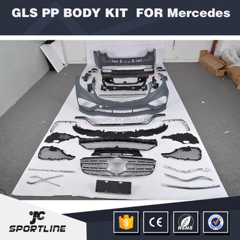 GLS Class GLS63 Body Kit for Mercedes Ben z X166 GLS 450 GLS 500 2015-2017