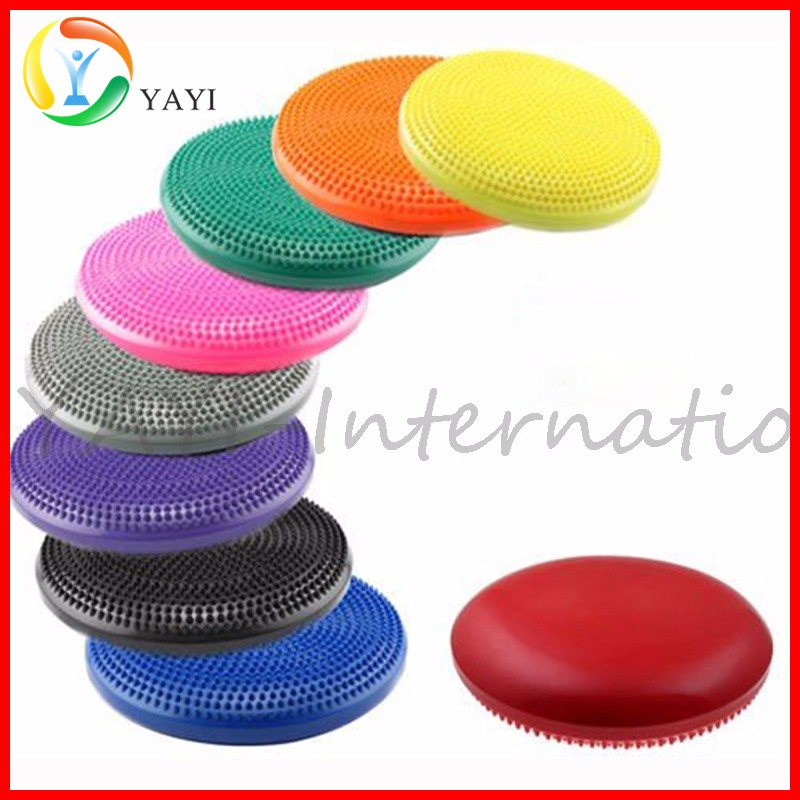 Inflated Air-Filled Stability Balance Disc, Athletic Twist Massage Balance Board