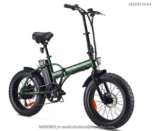 2018 NOVOKU 48v 750w Beach Fat Tire Folding Electric Bike/aimos 20inch Foldable Ebike With Very Cheap Price