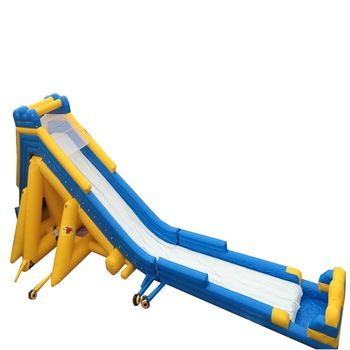 Giant Beach Inflatable Outdoor Slide For Adult Used