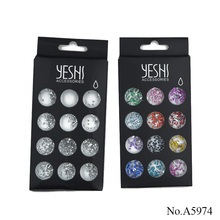 A5974 3D Nail Art Decoration waterdrop shaped rhinestones for Manicure