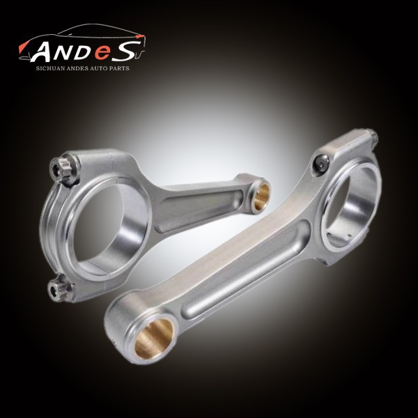 with ARP bolts I beam titanium For Toyota Starlet GT Turbo 4E-FTE 1.3L connecting rod