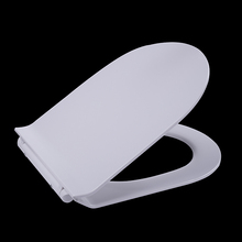 Premium Hygiene toilet seat with One-touch Quick Release hinge,Soft Close function,Slimline Universal D shape WC seat cover