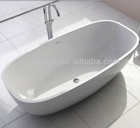 Hotel Freestanding Customer Stone Bath Tub WD6581