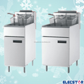 stainless steel fryers with Adjustable SS legs