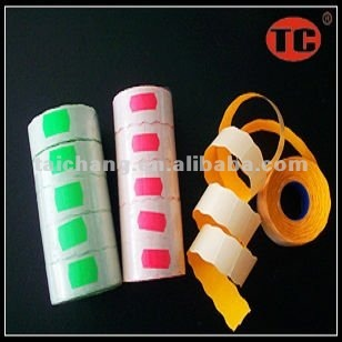 Self Adhesive Waving Fluorescence Price Labels