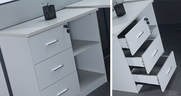 Aluminium Office Cabins : Office cabin aluminium frame glass modular wood partition