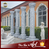 Hand carved decorative stone columns