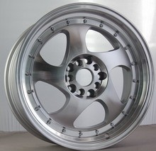 15 17 inch deep dish car wheel rims with rivets