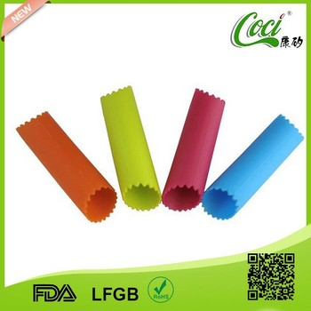High quality good grade silicone garlic clove peeler