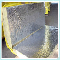 Hydrophobic Fireproof Rockwool Insulation Board with Aluminum Foil Langfang